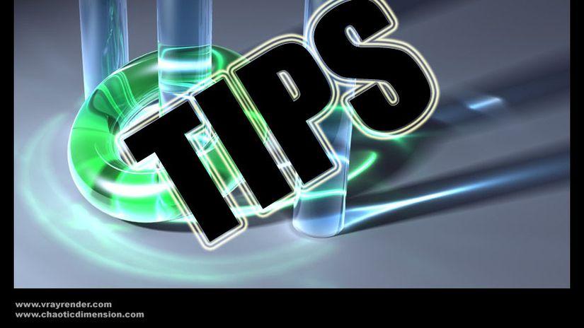 Vray Tips