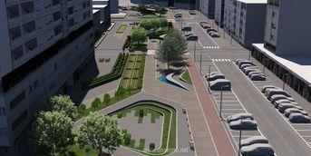 Riqualificazione ed arredo urbano di via Don Morosini. Latina - Progetto partecipante