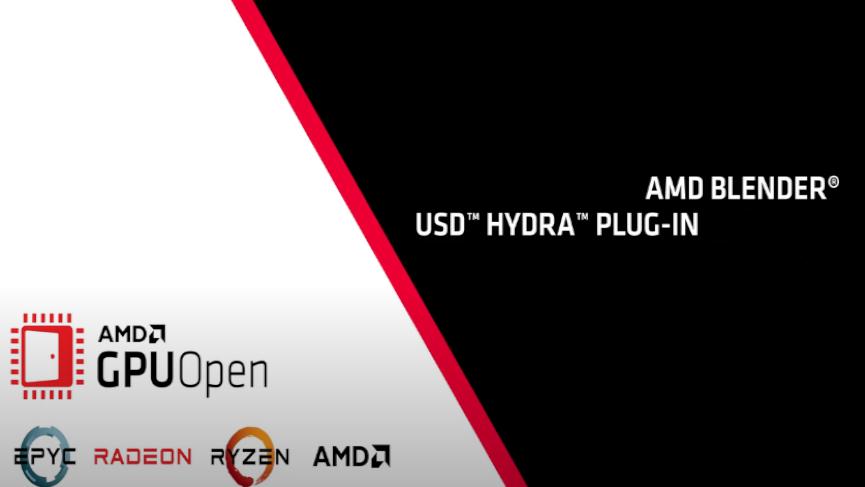 USD Hydra Plug-in per Blender