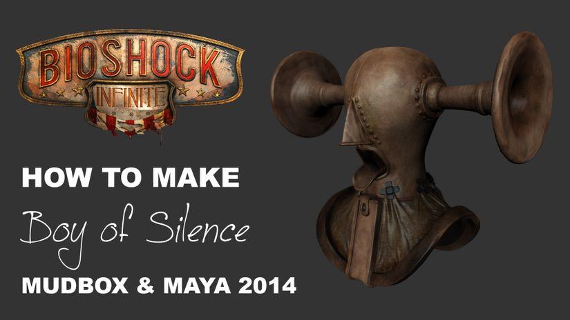 Modeling of Boy Of Silence (BIOSHOCK INFINITE)