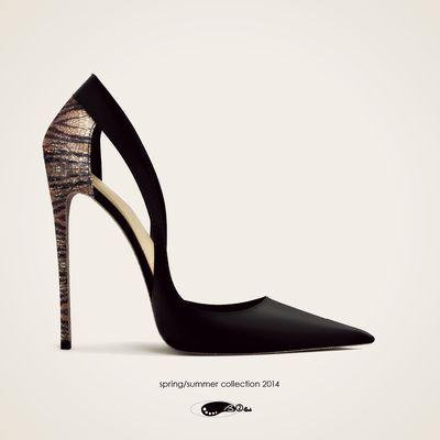 Scarpa da donna con tacco
