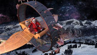 Render contest Una slitta per Babbo Natale