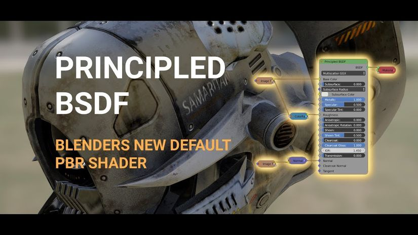 Principled BSDF per Blender: il nuovo shader PBR