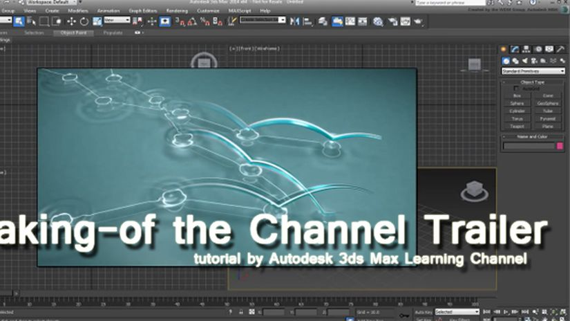 Making-of the 3ds Max Learning Channel Trailer