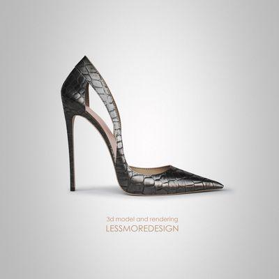 scarpa donna tacco alto