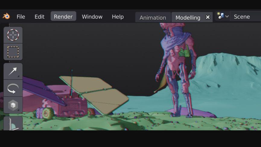 Blender 2.8: rilasciata la prima versione Alpha ufficiale