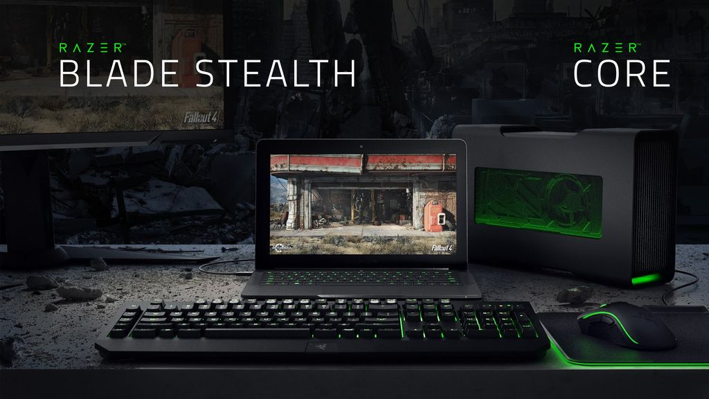 The Razer Blade Stealth & Razer Core