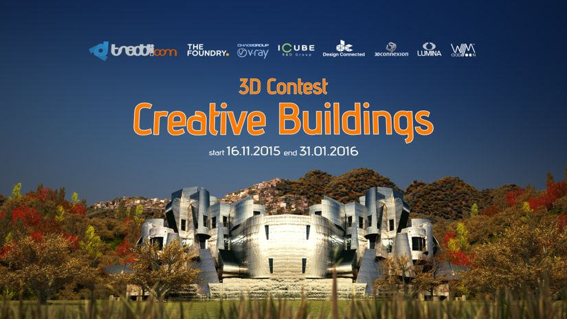 Creative Buildings - 3D Graphics Contest