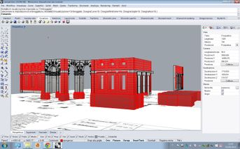modellazione di Villa Erba a Cernobbio (Rhino+3dmax+Vray)