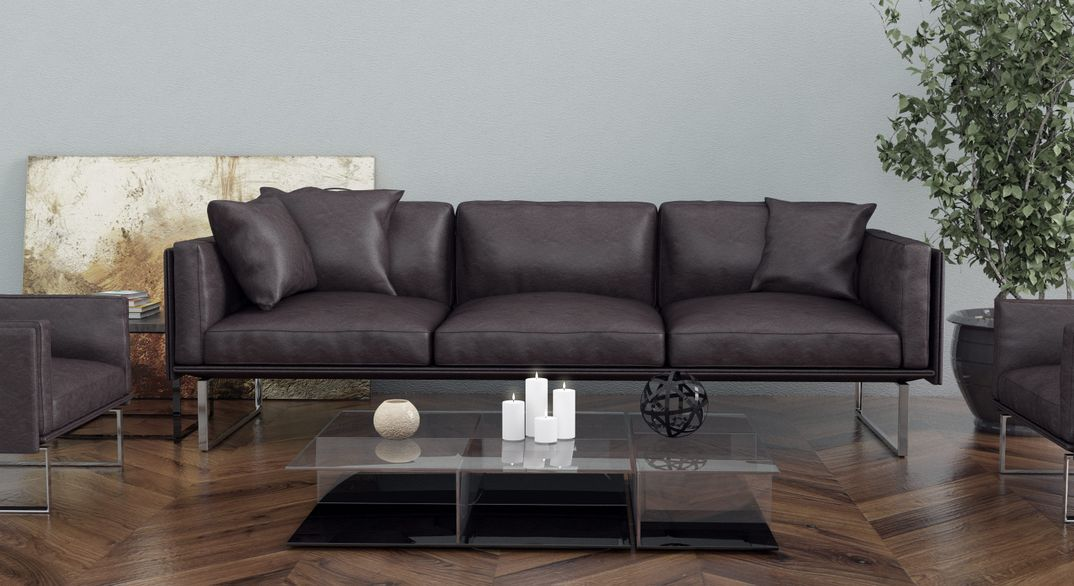 Interior realistic sofa render