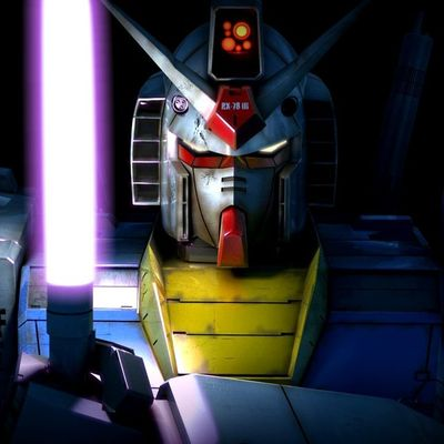 Gundam's light saber