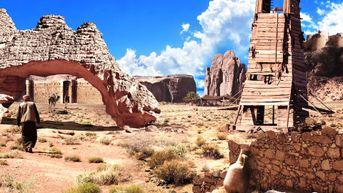 Matte painting - Desert far far away