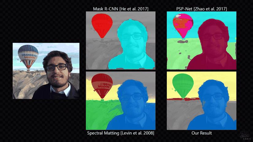 L'intelligenza Artificiale può rimuovere automaticamente lo sfondo da una foto