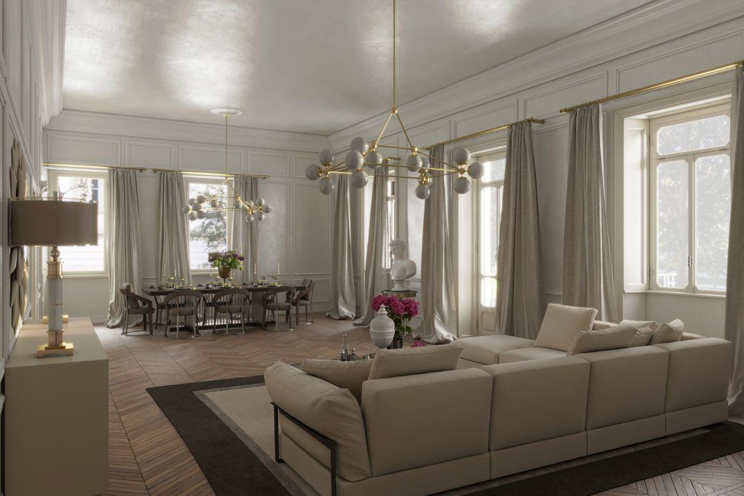 ristrutturazione appartamento classico