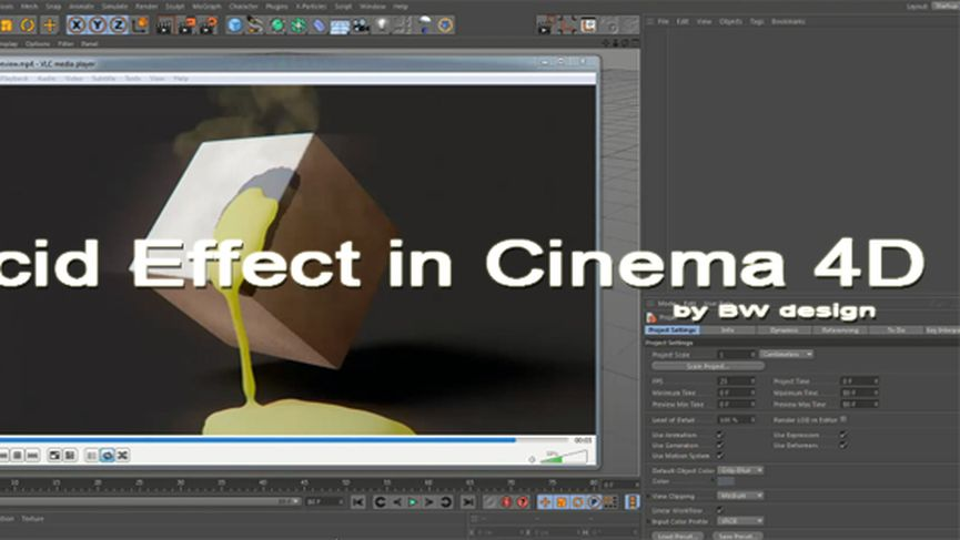 Acid Effect in Cinema 4D