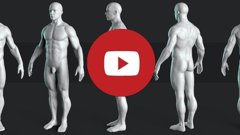 Reference gratuita per modellazione di character 3D