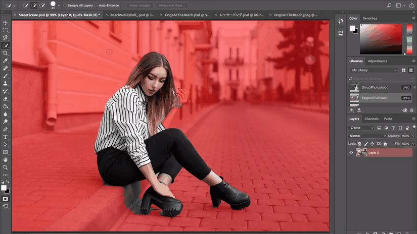 Select Subject in Adobe Photoshop CC: selezionare i soggetti con un click