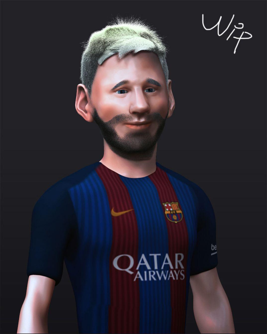 Messi_Cartoon_WIP