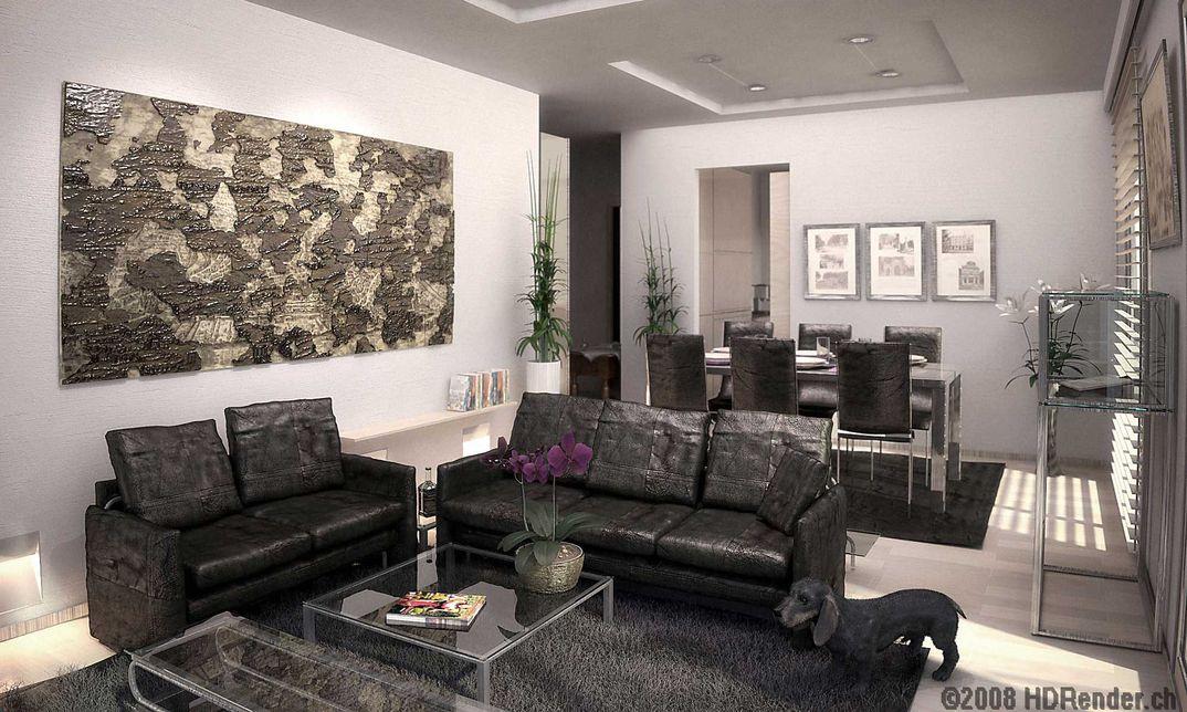 Appartamento Con Bassotto