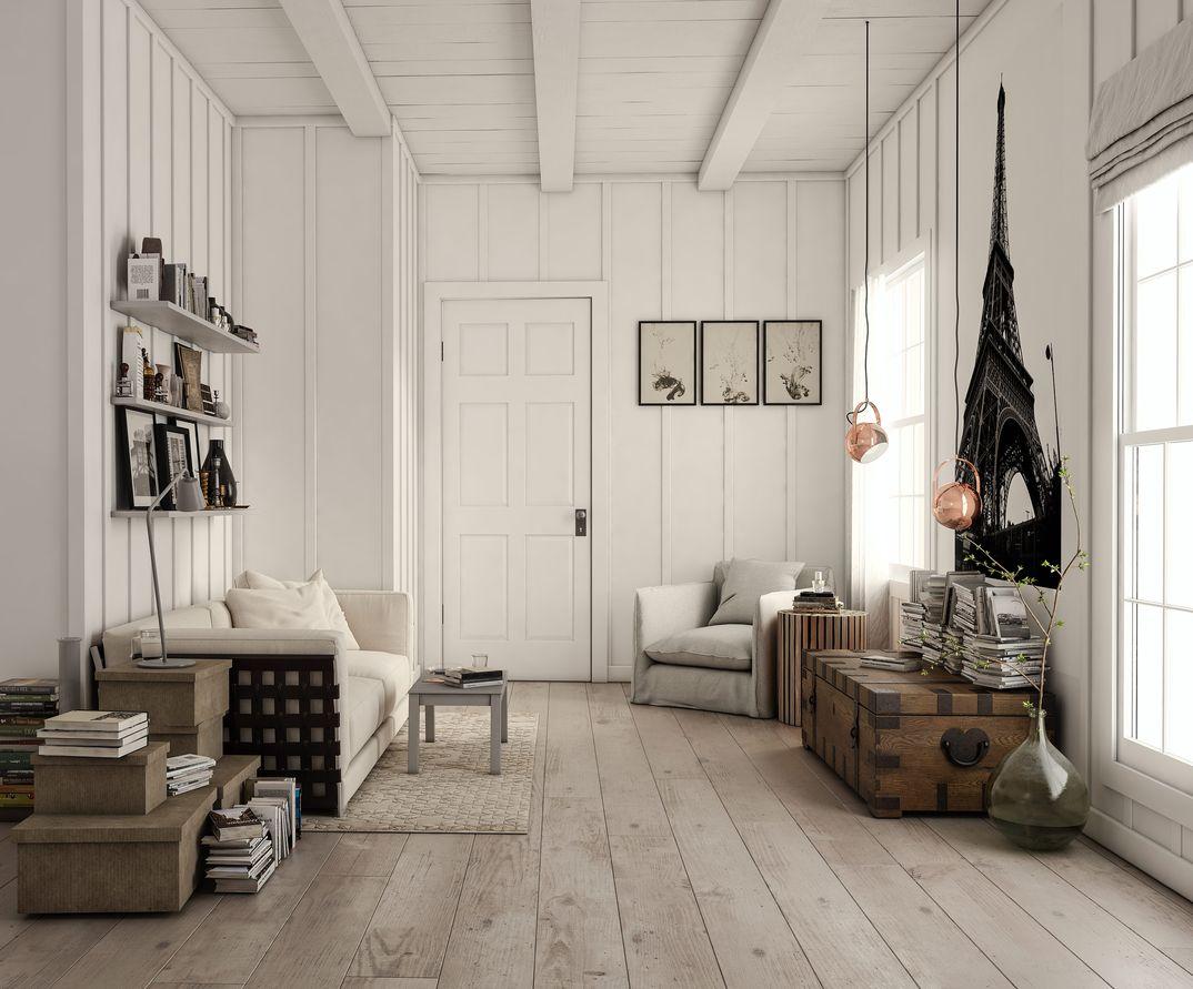 scandinavian interior project