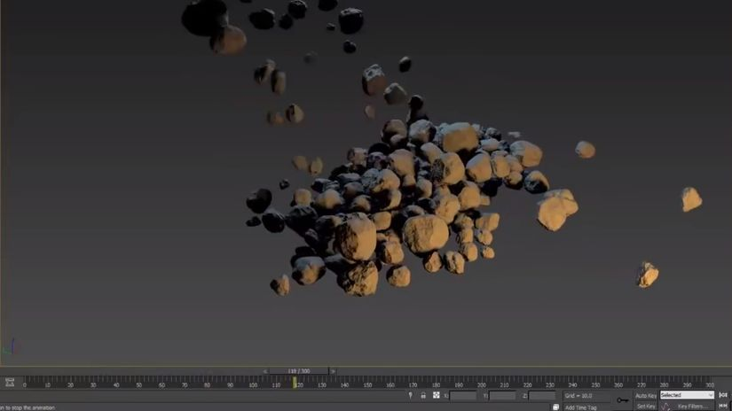 RStones - rock generator gratuito per 3ds Max