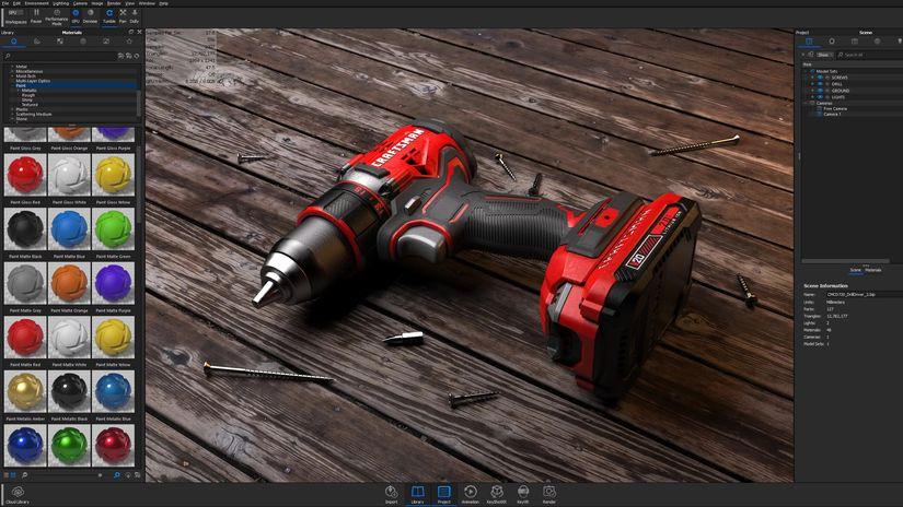 Blender, Modo e Keyshot supporteranno il ray tracing in tempo reale