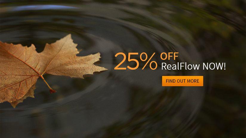 RealFlow - 25% discount