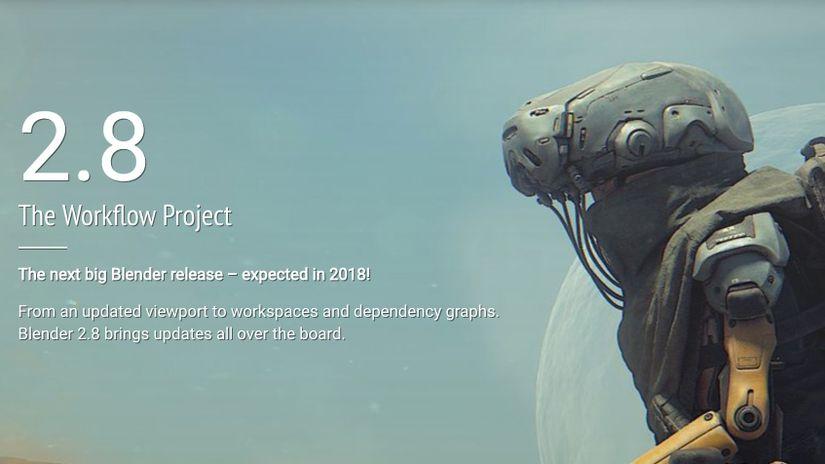 Blender 2.8: ecco la lista delle nuove features