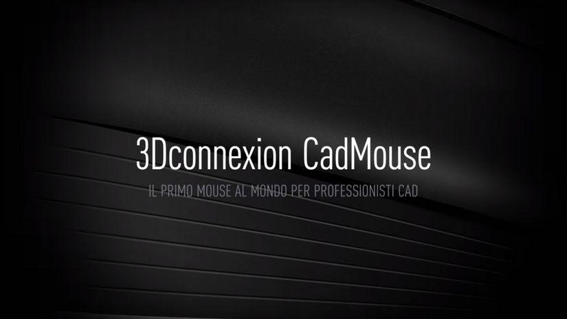 3D Connexion CadMouse - la recensione
