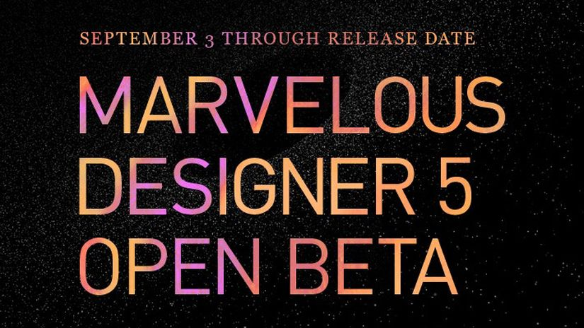 Marvelous Designer 5 - Open Beta