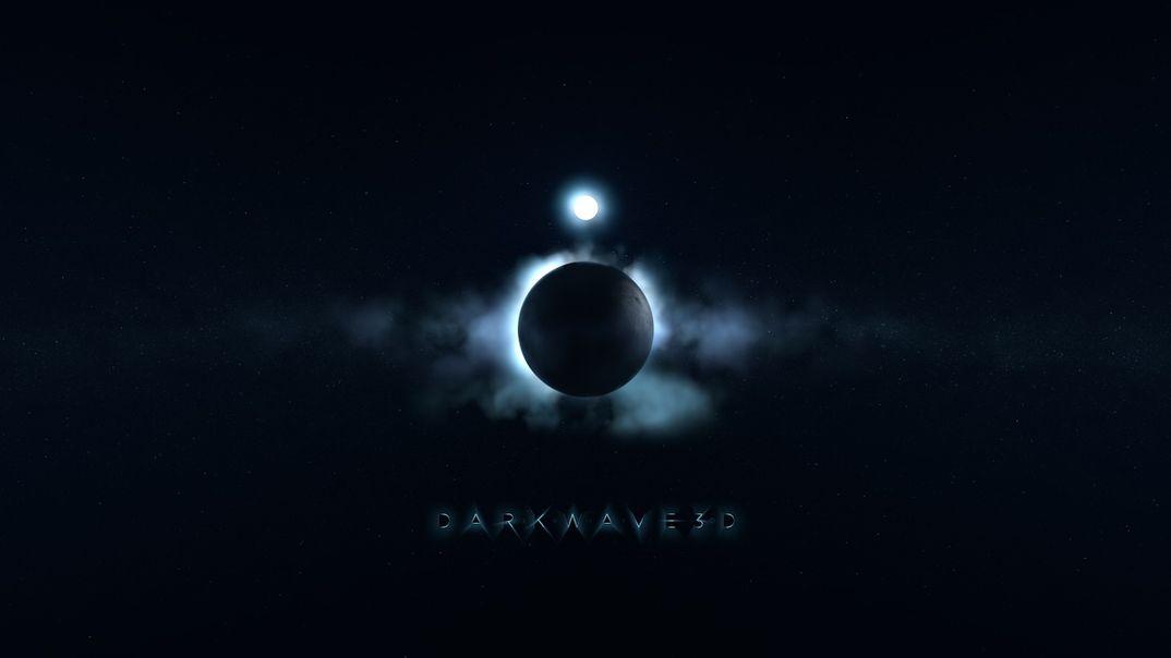 DarkWave 3D Logo