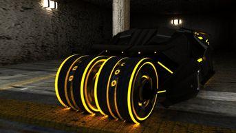 Batmobile Stile Tron