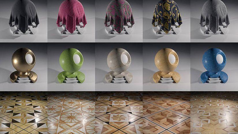 Chocofur Store - 150 shader free per Blender