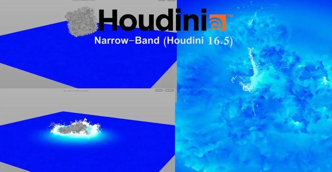 Houdini 16.5: Narrow Band Flip