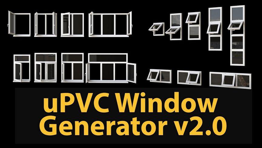 uPVC Window Generator 2.0
