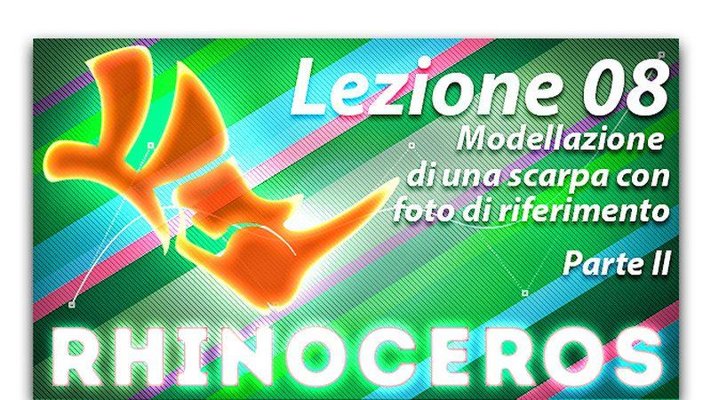 Lezione 07 - Modellazione di una scarpa in base a riferimenti fotografici - Parte 2