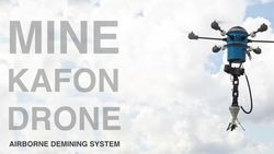 Mine Kafon Drone - lanciato su Kickstarter il nuovo progetto di Massoud Hassani, in stampa 3D