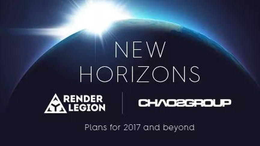 Chaos Group acquisisce Render Legion