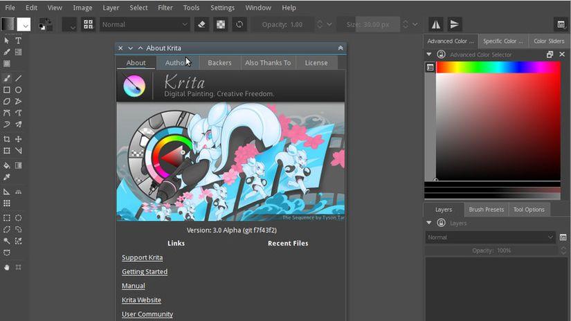 Krita 2016 Kickstarter