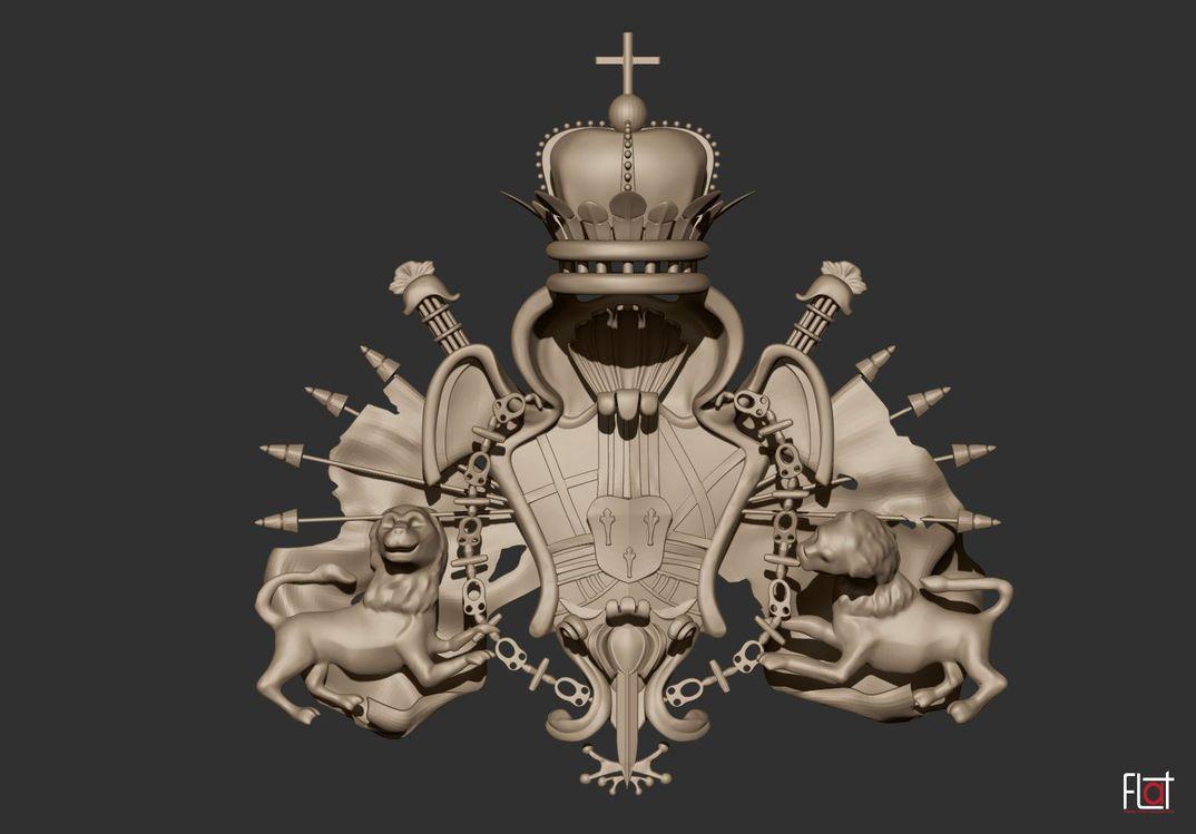 palacio real de aranjuez - 3d model