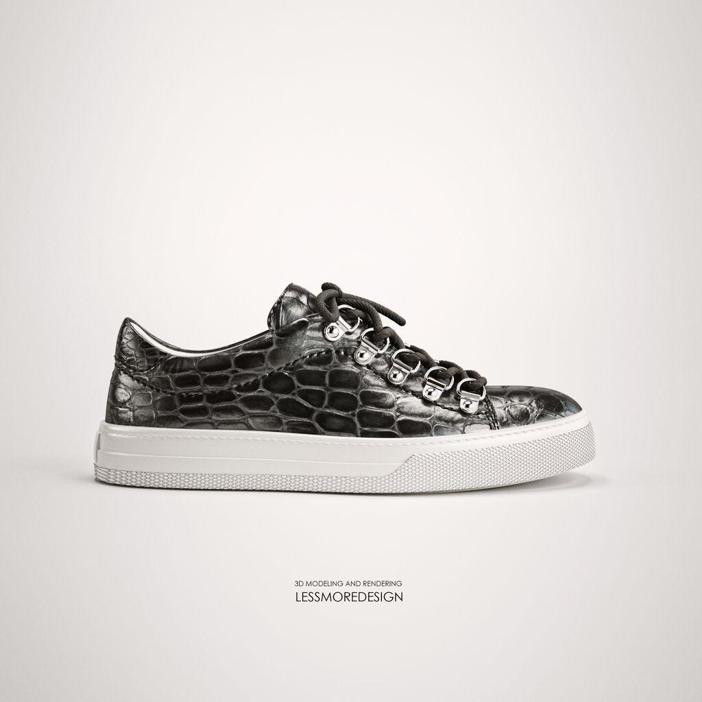 sneaker rendering