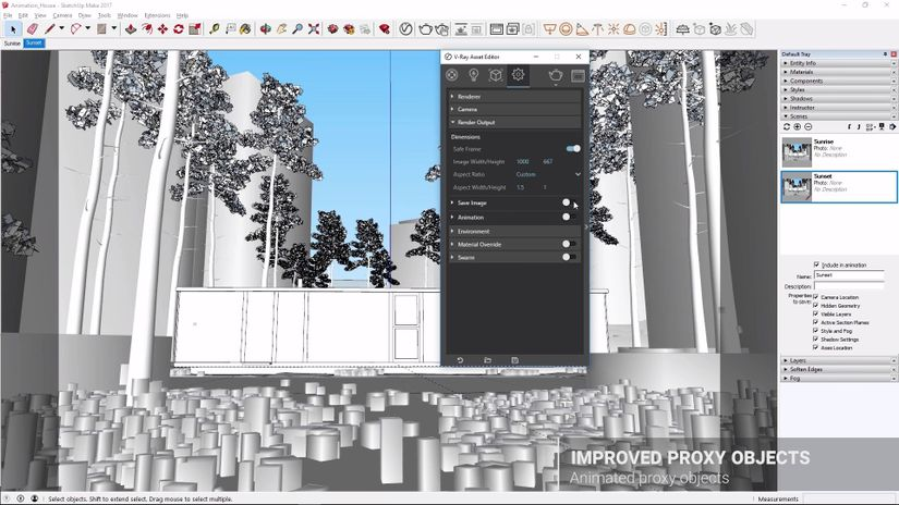 V-Ray 3.6 per SketchUp - Update: free webinar online
