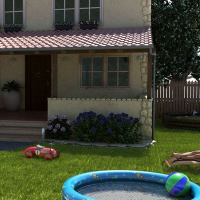Single-family cottage