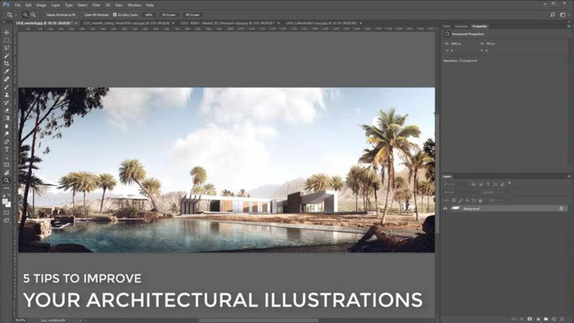 Consigli per rendering architettonici? Ci pensa Arqui9