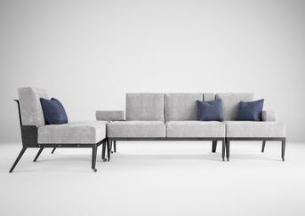 MOOveD  The sofa with the dynamic armrest that adapts to the atmosphere of the moment.