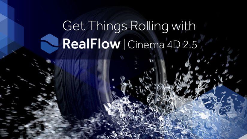 Next Limit annuncia RealFlow 2.5 per Cinema 4D