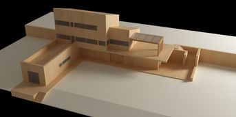 Test Plastico Architettonico In Legno