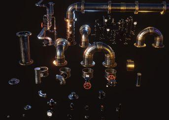 Tubazioni Steampunk