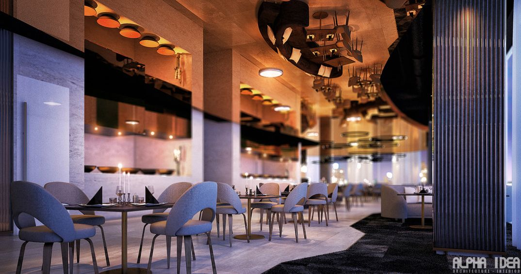 Restaurant bar - korea 2015