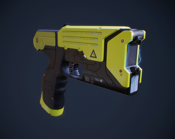 Taser - low poly
